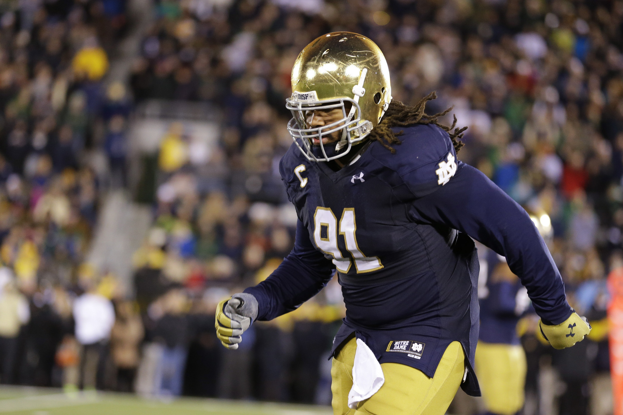college football notre dame who is playing in the playoffs