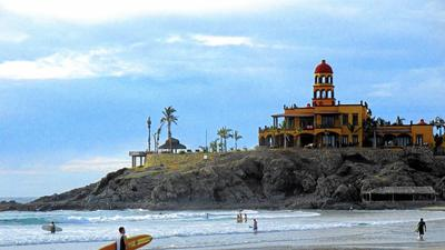 Surf the waves or stroll the galleries in arty, authentic Todos Santos, Baja California