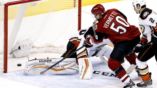 Ducks Come Out Flat And Lose Again To The Coyotes, 4-2