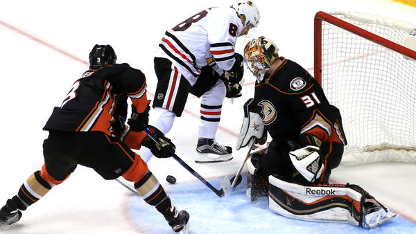Ducks Might Be Without Frederik Andersen When They Play Chicago On Friday