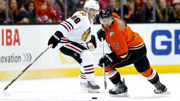 Ducks' 3-2 Overtime Loss To Chicago Has A Familiar Sting To It