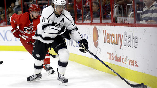 With His Scoring Down, Kings' Anze Kopitar Still Points To The Good