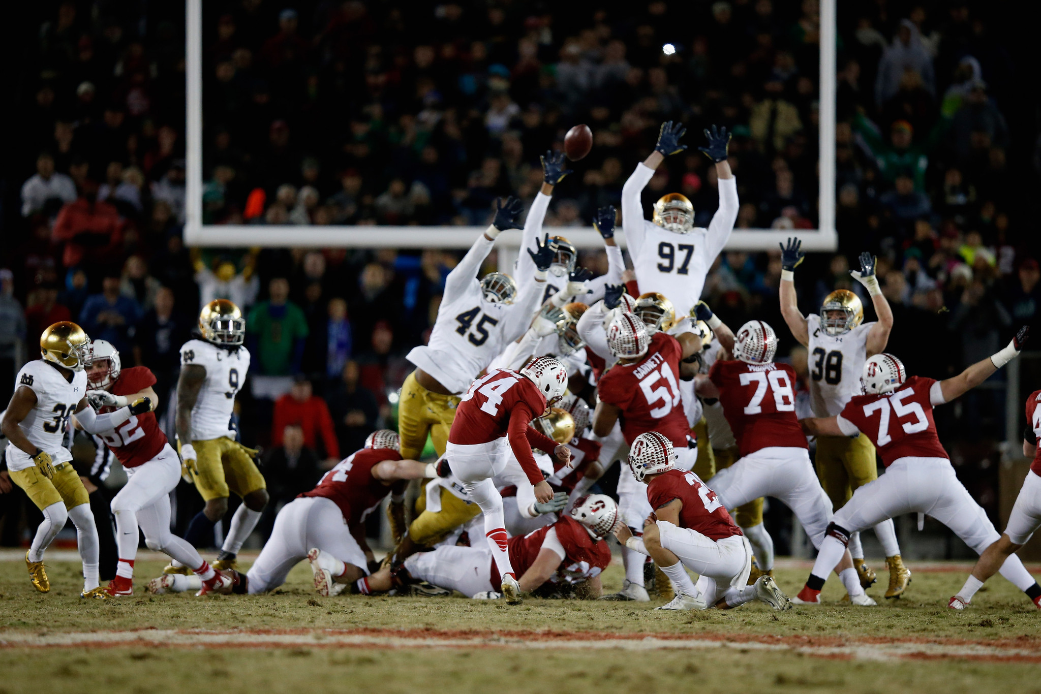 After Loss To Stanford, Notre Dameu0027s Mission Incomplete   Chicago Tribune
