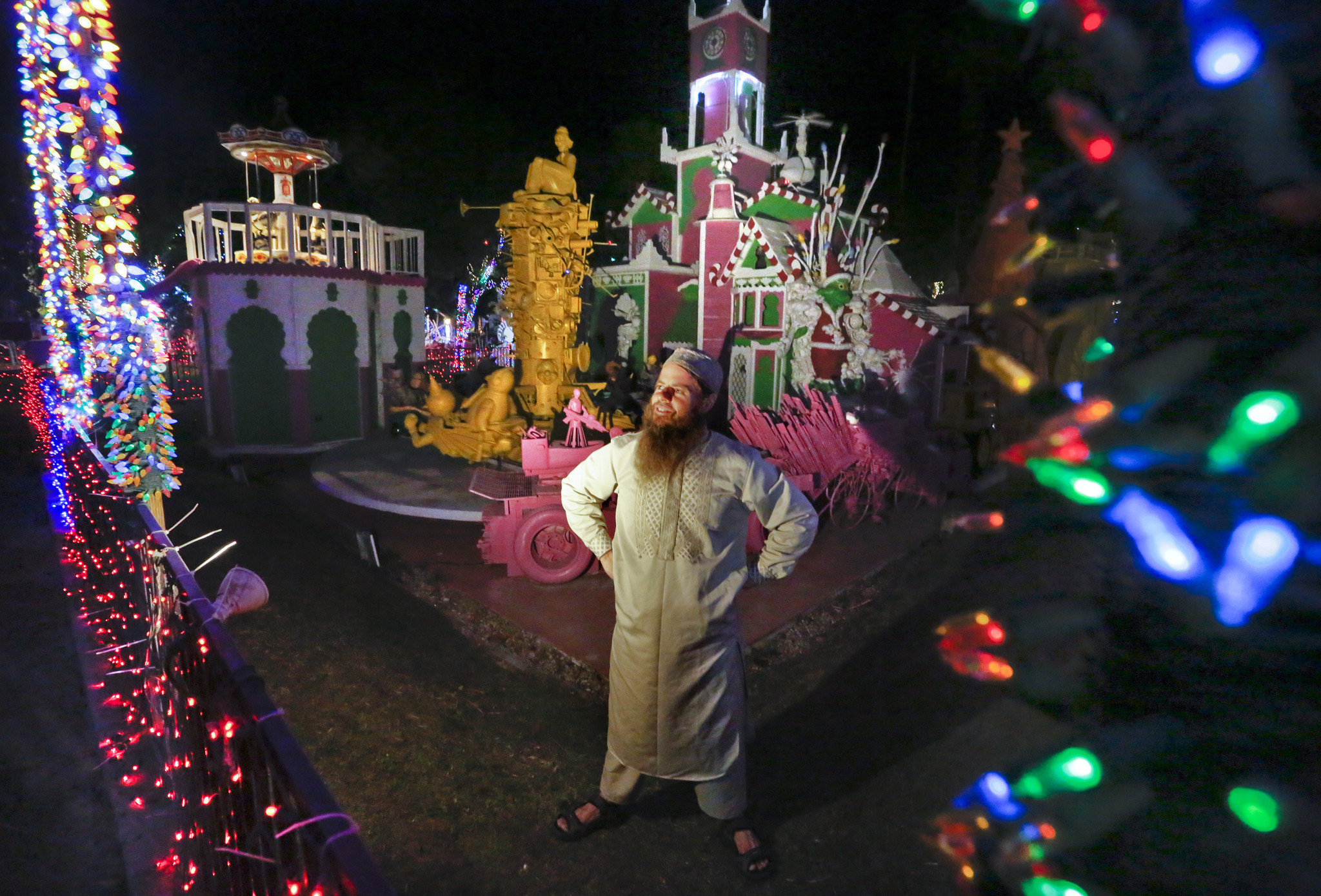 Robolights, the surreal holiday display in Palm Springs, is getting a new home