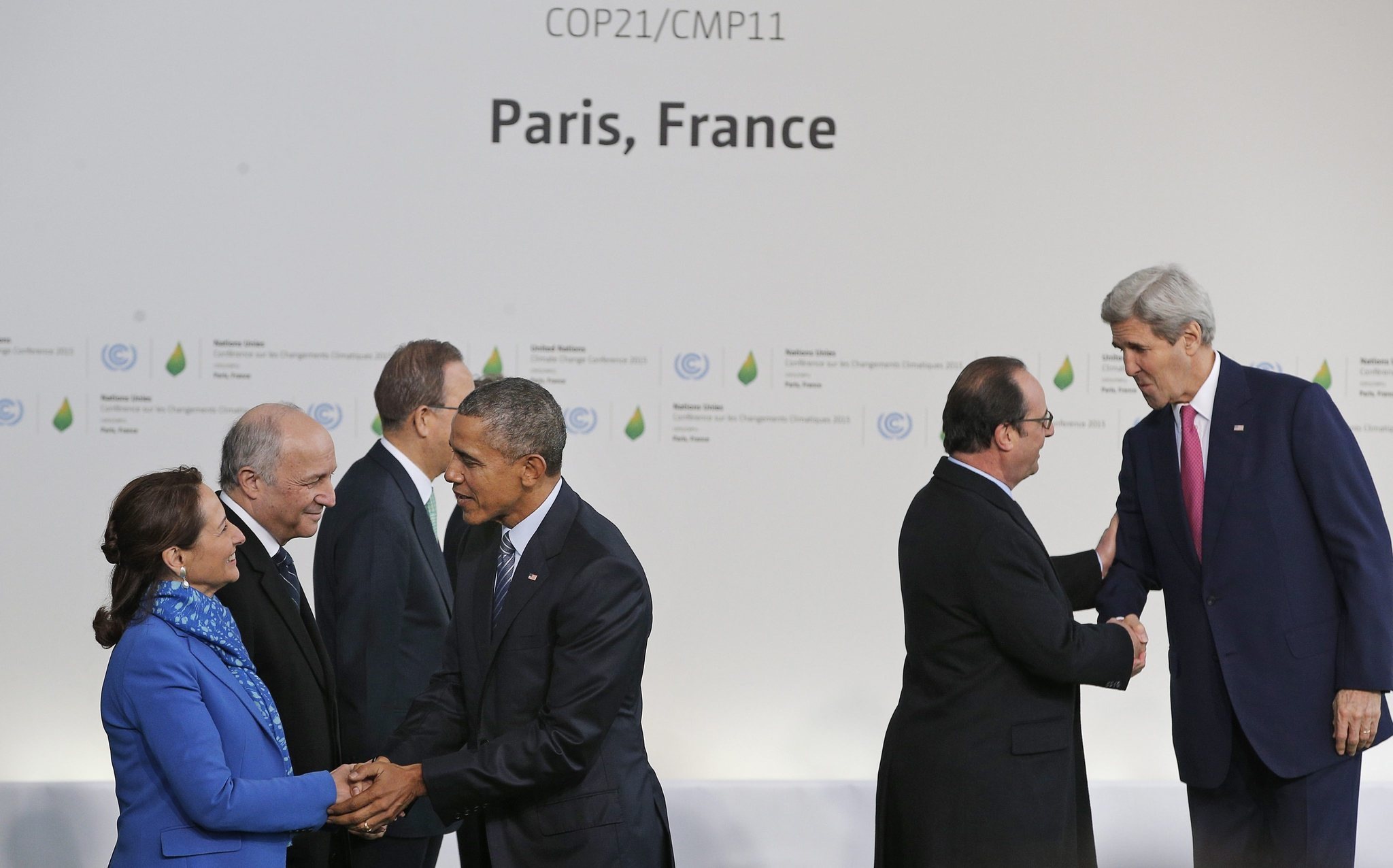 Climate change negotiations begin in Paris; Obama calls the talks an 'act of defiance'