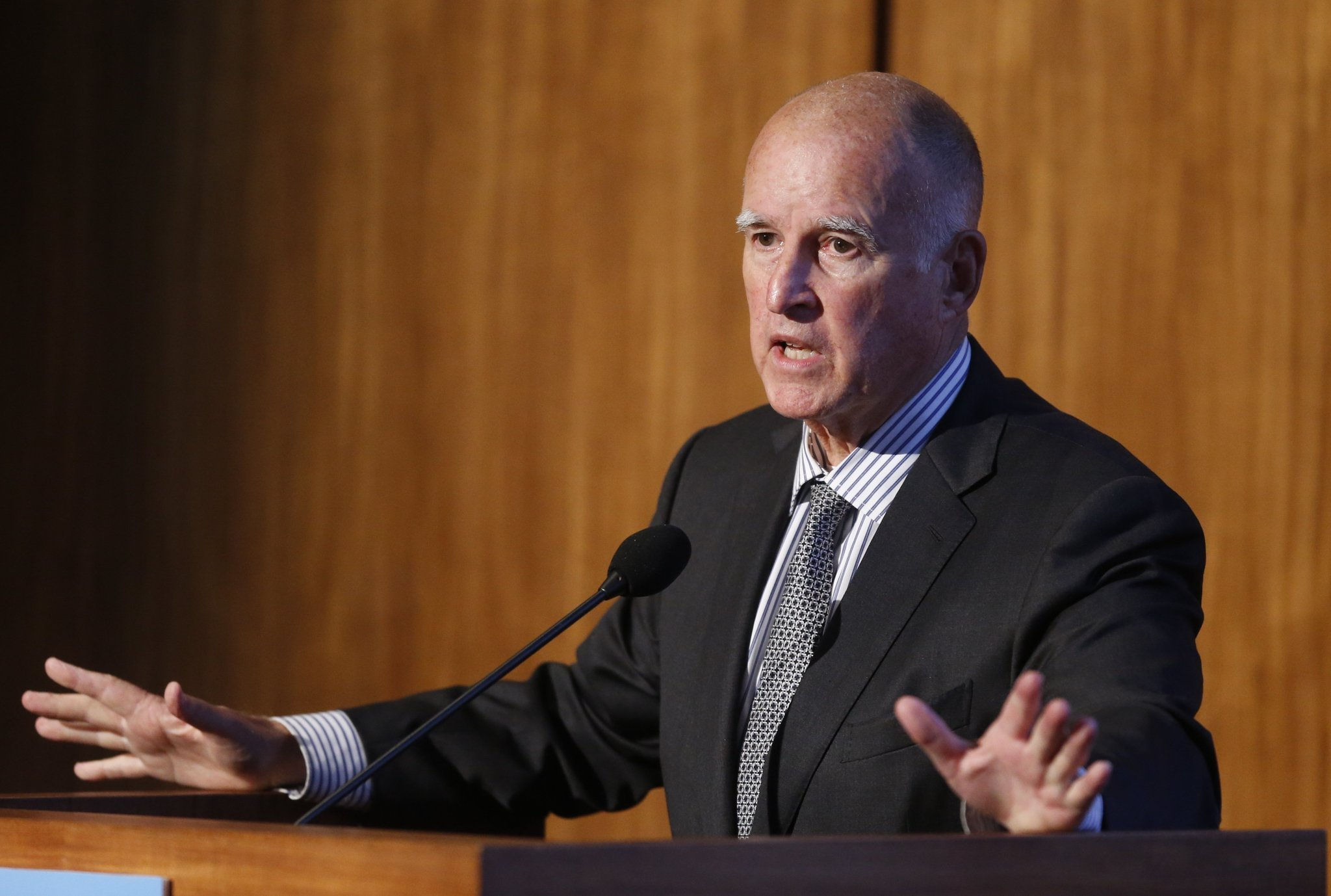 Brown Readies To Take Spot On Global Climate Stage They
