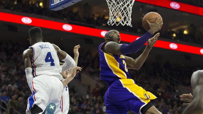 Lakers vs. 76ers