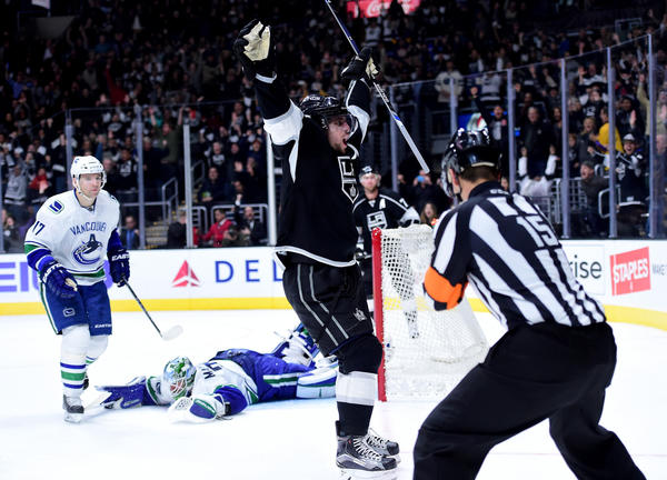 Drew Doughty, Anze Kopitar Lead Kings To 2-1 Overtime Win Over Canucks