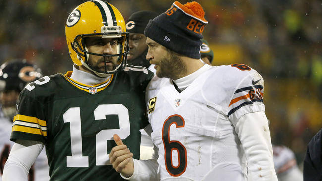 NFL Jerseys Sale - Packers show their disrespect, and Bears make them eat it rest of ...