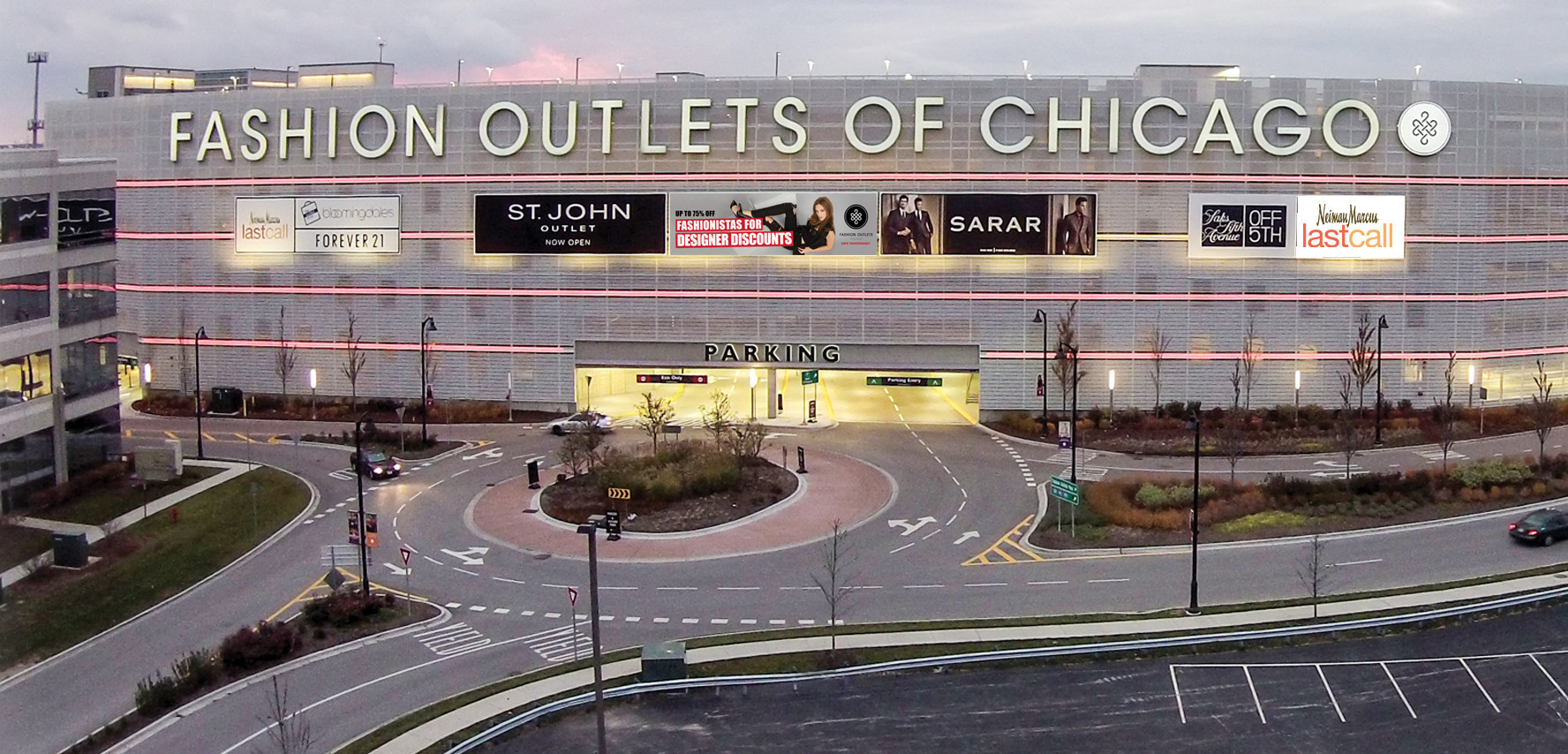 Fashion outlet of chicago stores 60