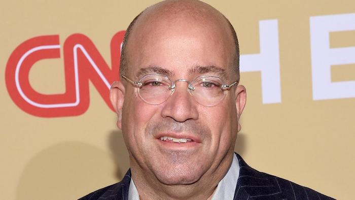 Jeff Zucker, president of CNN, in November. (Larry Busacca / Getty Images)
