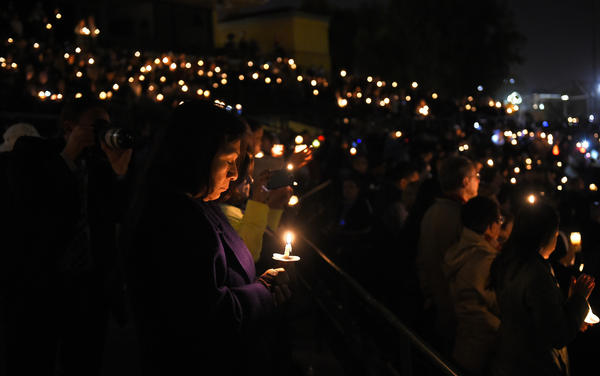 san manuel muslim Lawyers for farook family said he was subjected to a series of disparaging comments about his muslim respects during a candlelight vigil at san manuel.