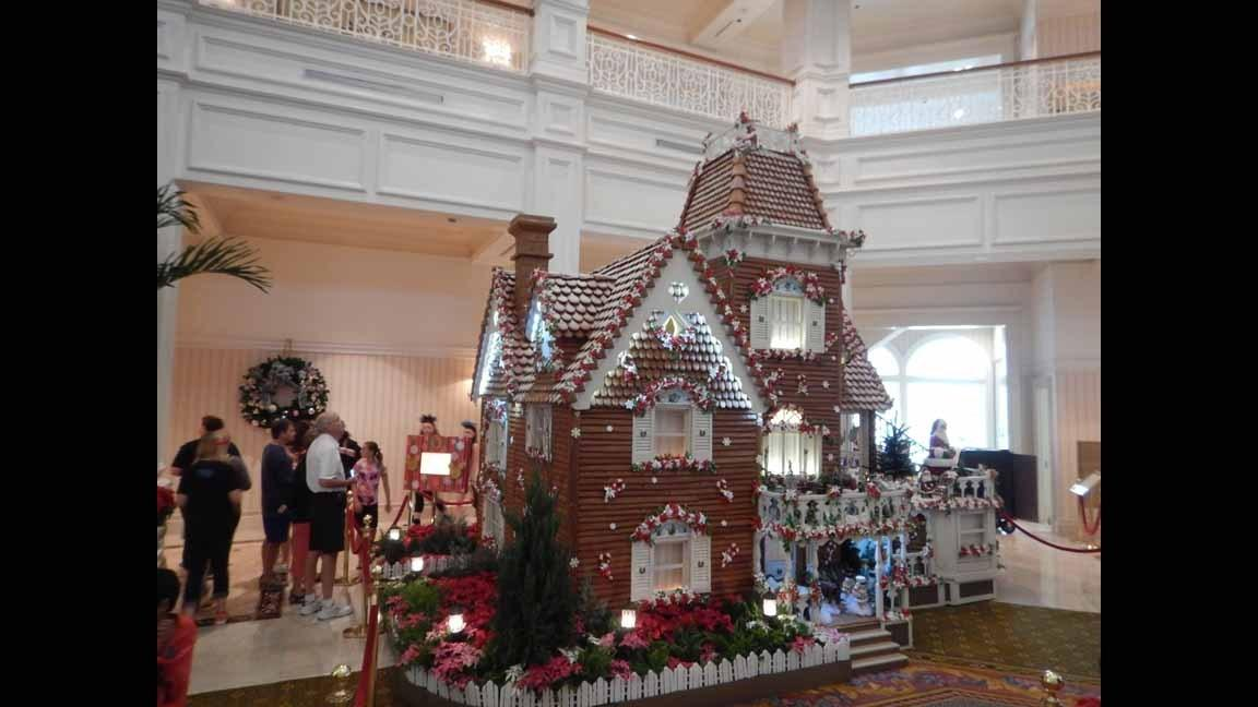 Decked out for the holidays: Disney's Grand Floridian