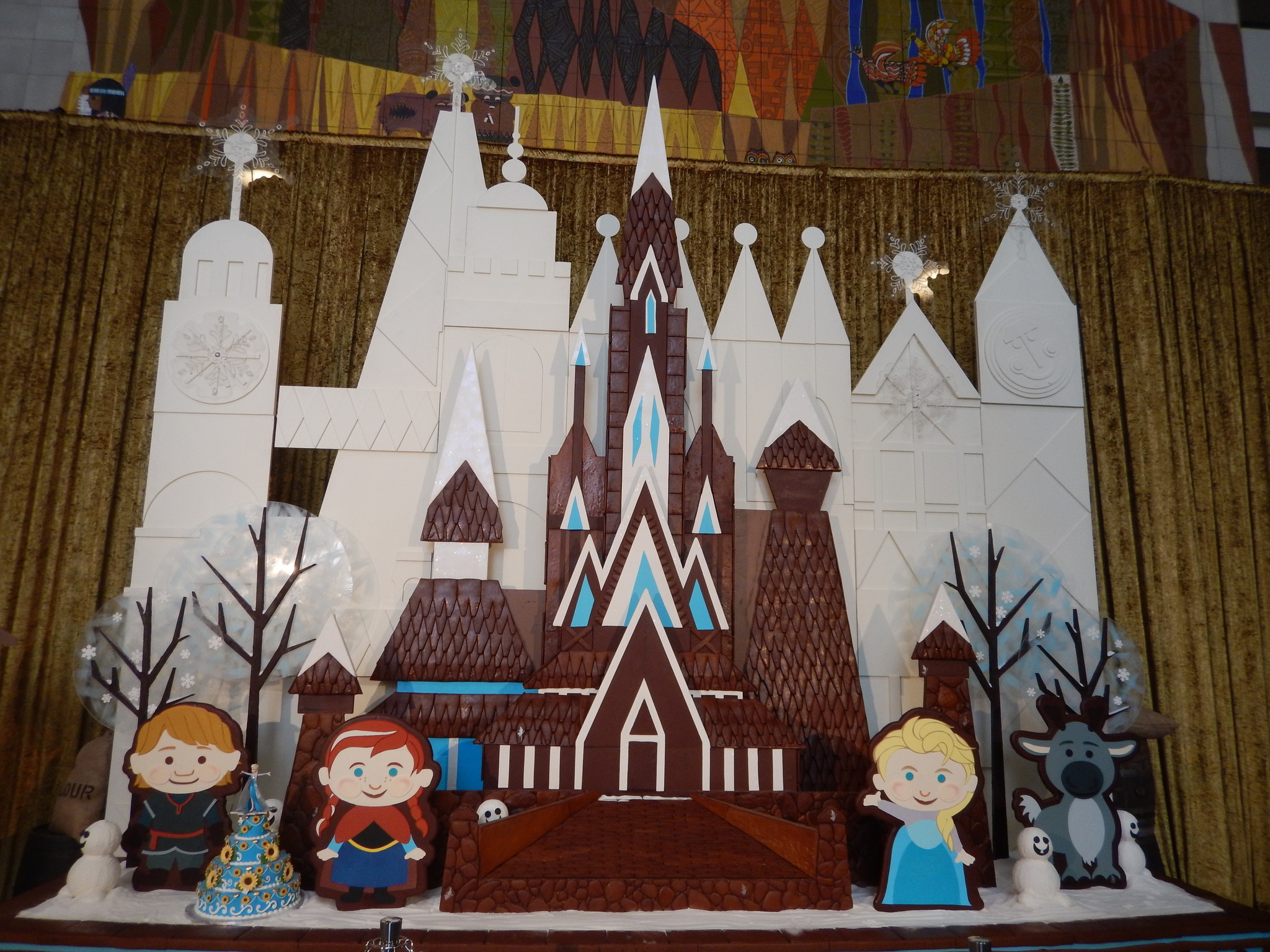 Disney hotel christmas decorations - Disney Hotels Get Decked Out For The Holidays Orlando Sentinel
