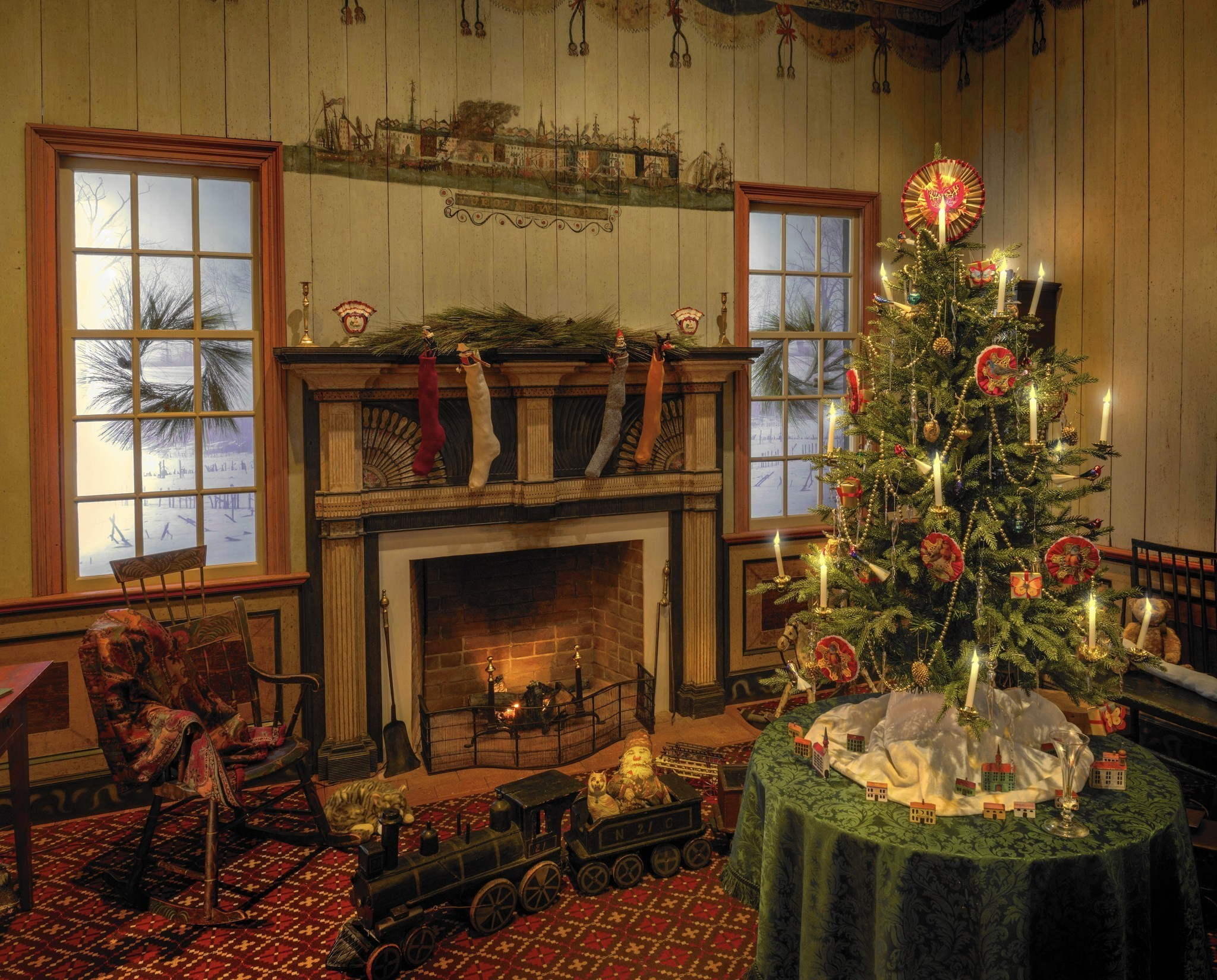 Colonial Williamsburg Christmas Exhibit Recalls The