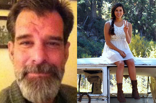 Shannon Johnson, 45, left, and Denise Peraza, 27 (Katherine Hotetz via AP)