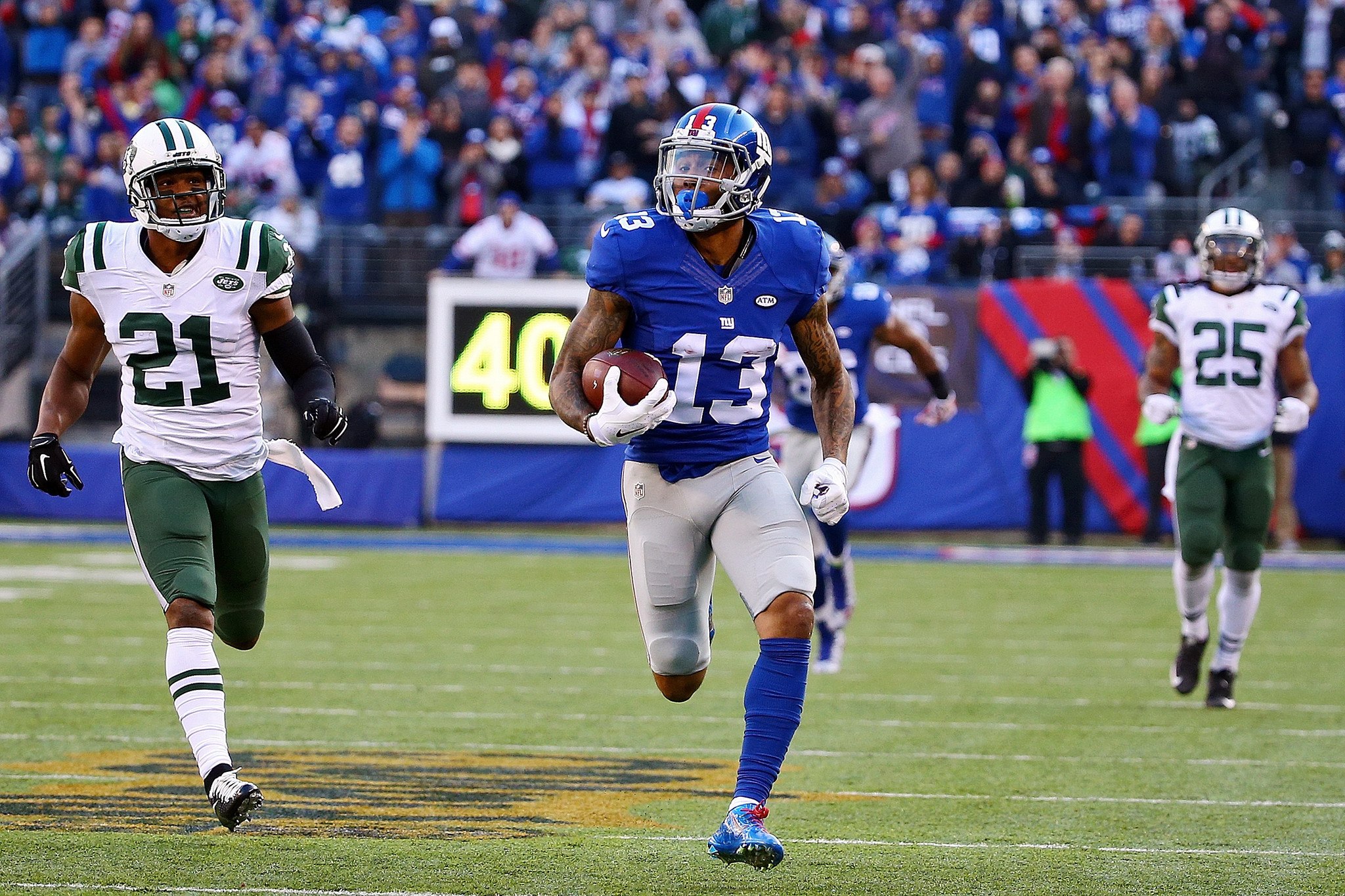 The Fly Odell Beckham Jr A Joy To Watch But Not The Giants