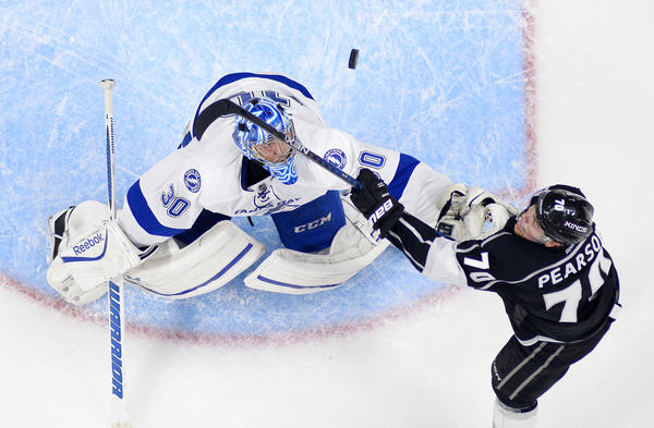 Kings' Milan Lucic Keeps The Goals Coming, Scoring His 10th In 3-1 Win Over Lightning