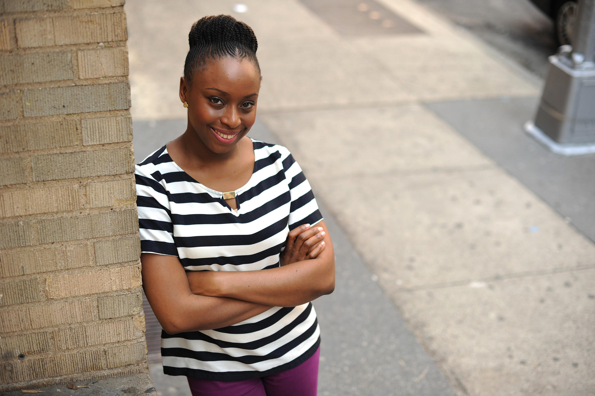 "Chimamanda Ngozi Adichie is the author of ""We Should All Be Feminists."""