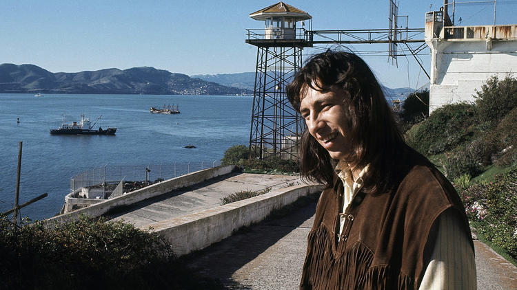 John Trudell dies at 69; poet and American Indian activist in occupation of Alcatraz