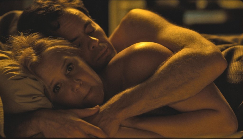 Amy Schumer and Bill Hader in