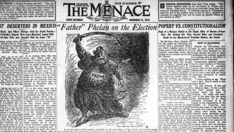 Menace newspaper