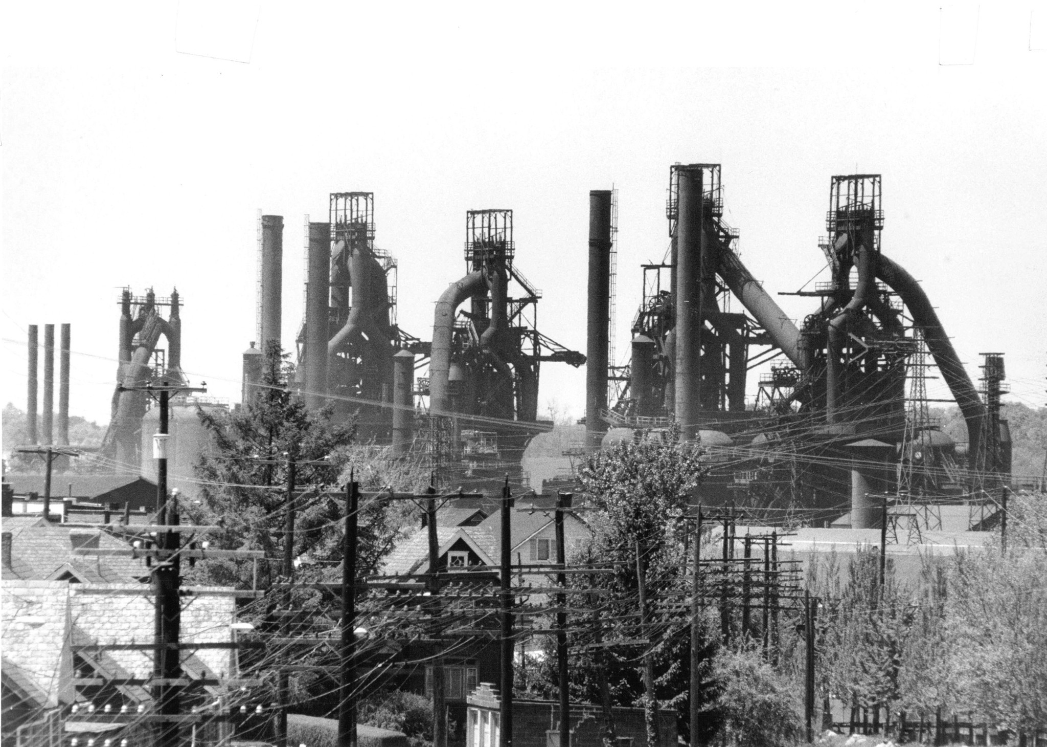 Old Bethlehem Steel Factory Bethlehem Pennsylvania Stock