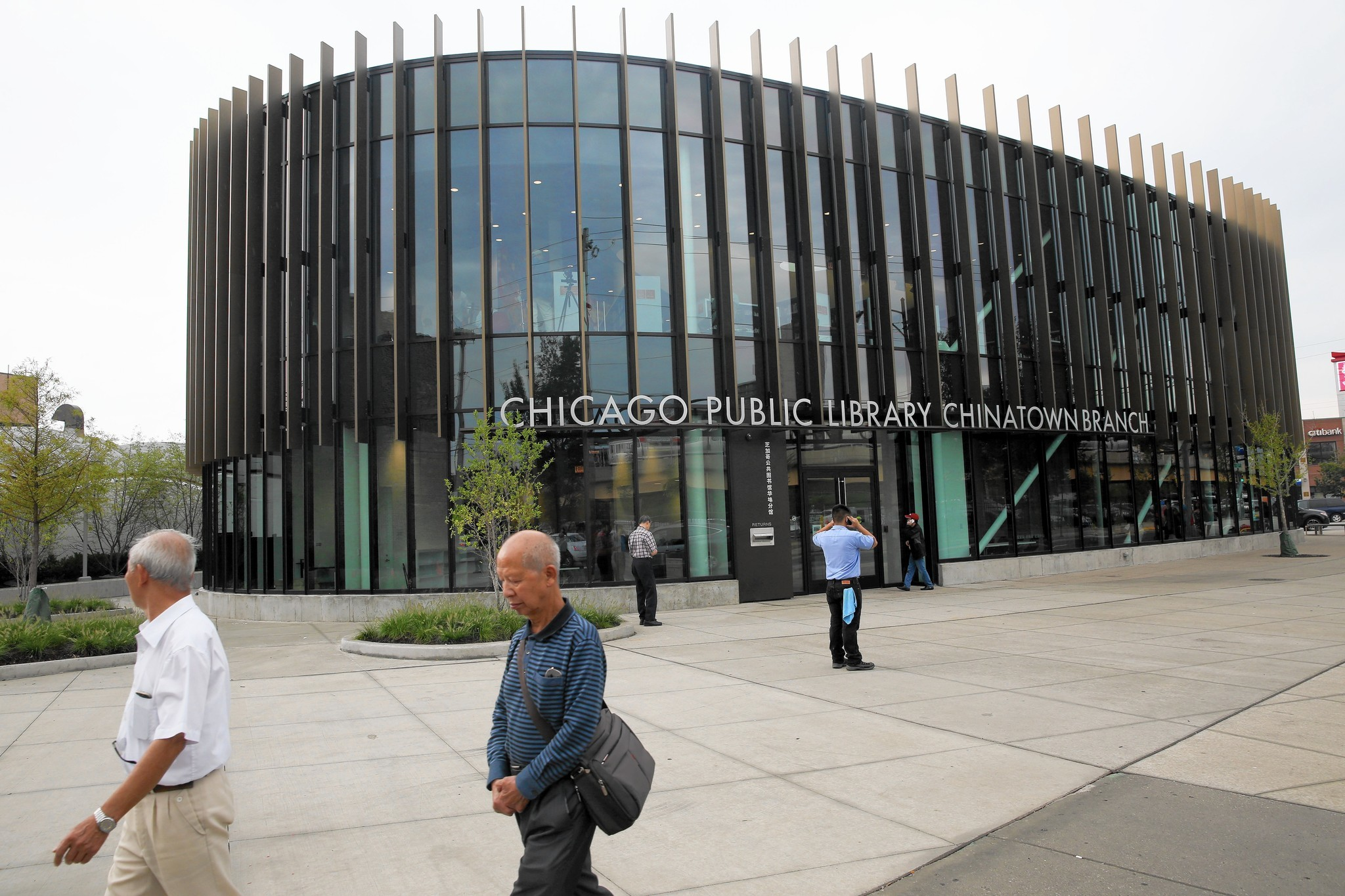 Chicago's Chinatown library breaks cookie-cutter mold