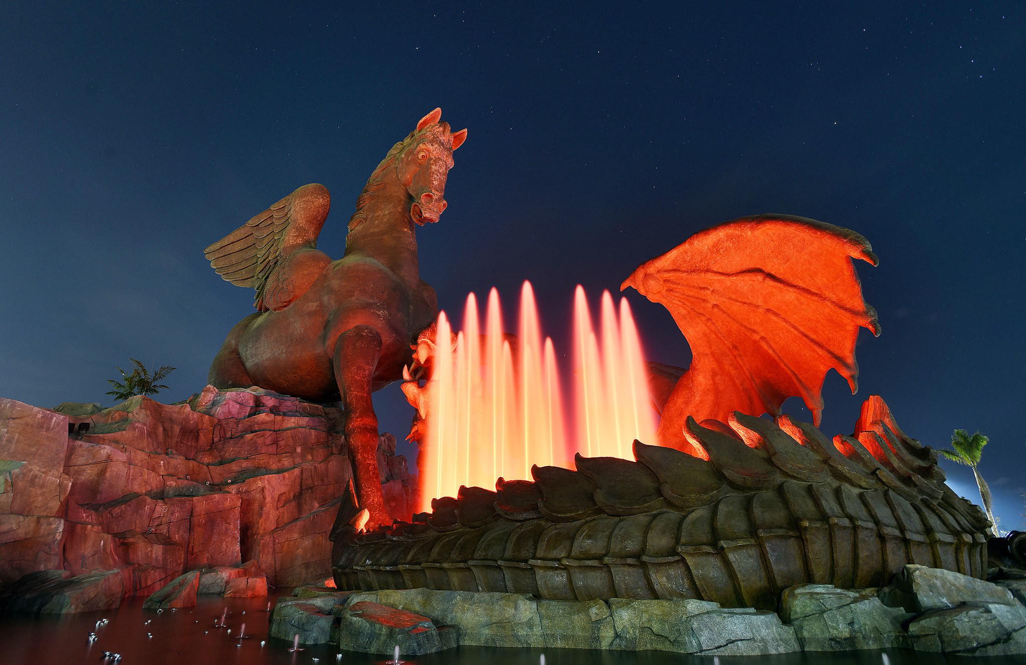 Photos The Pegasus Light Show Sun Sentinel