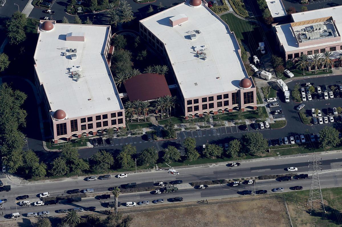 'All hell broke loose' as police chased the San Bernardino shooters