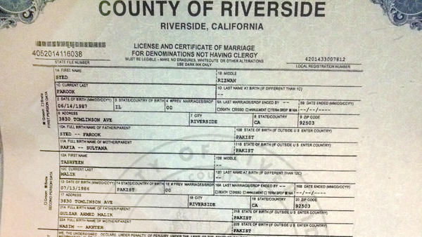 Everything we know about the san bernardino terror attack the marriage yelopaper Images