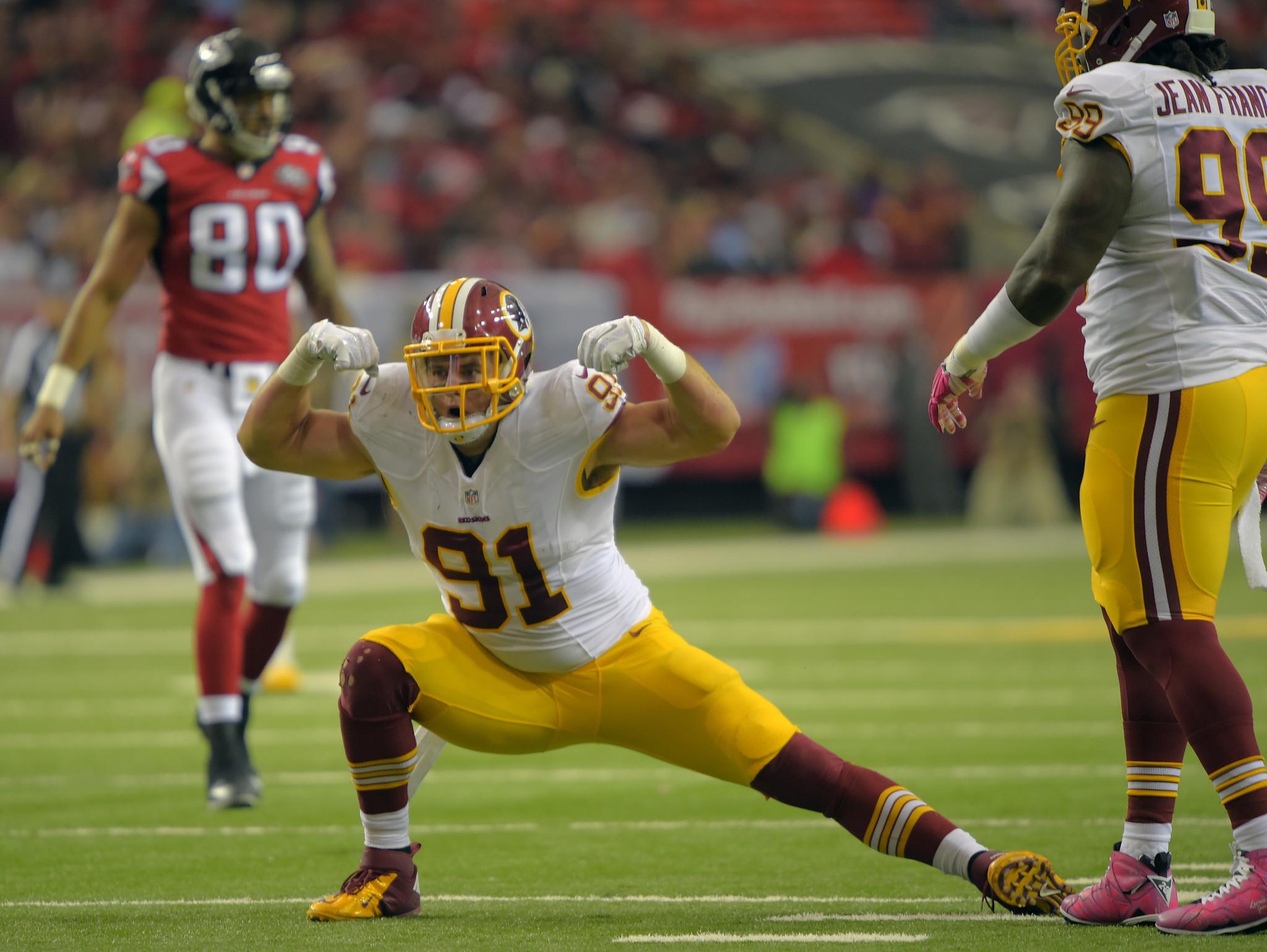 Chicago Bears scouting report Ryan Kerrigan Redskins OLB