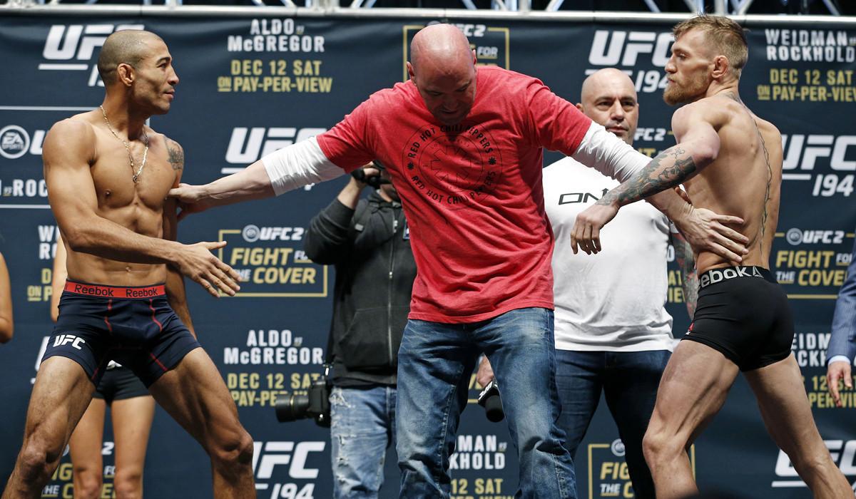 UFC 194 results: McGregor - Aldo, Weidman - Rockhold ...