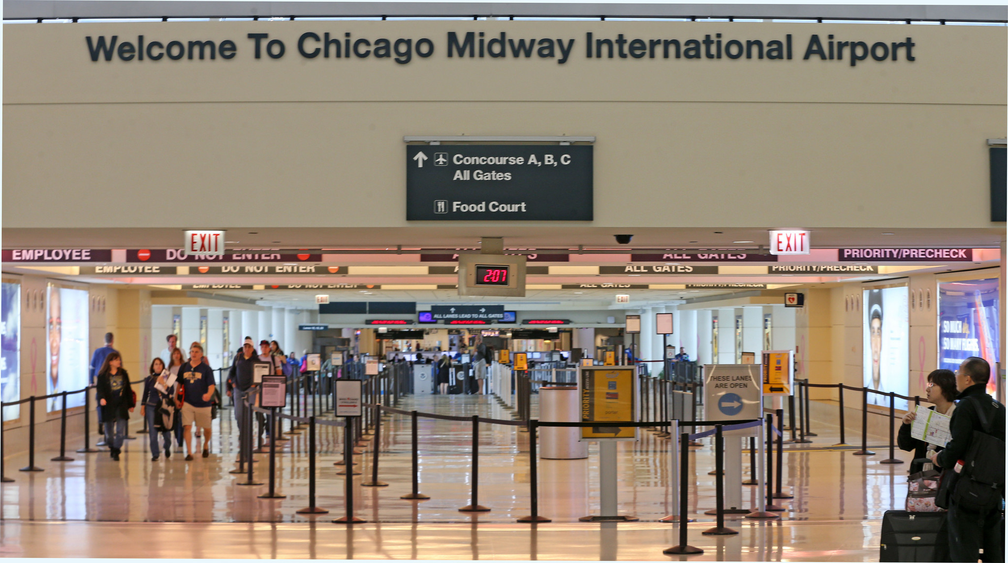 Where To Eat And Drink At Midway International Airport Redeye Chicago