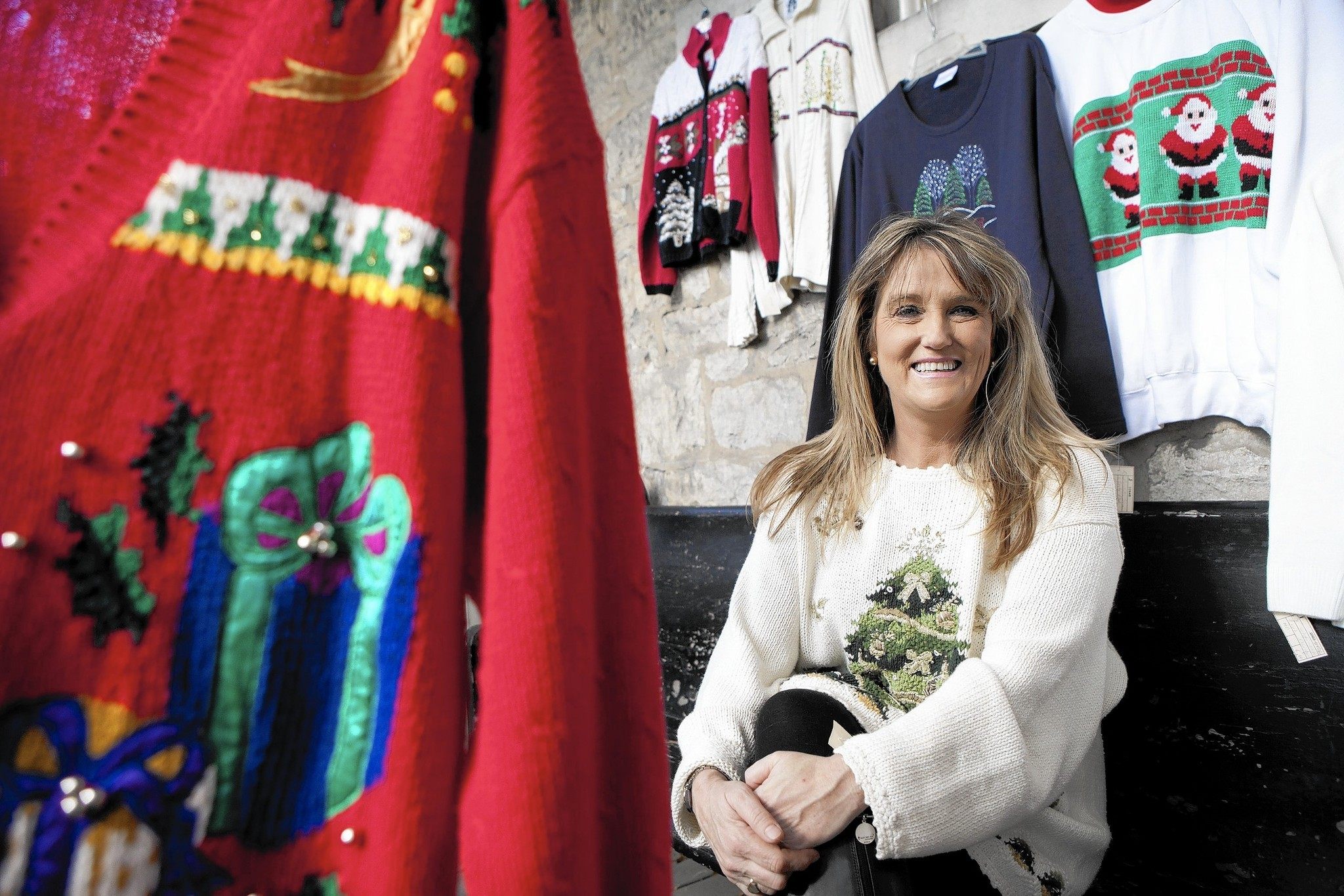 Towson adds ugly sweaters to its holiday fashion - Baltimore Sun