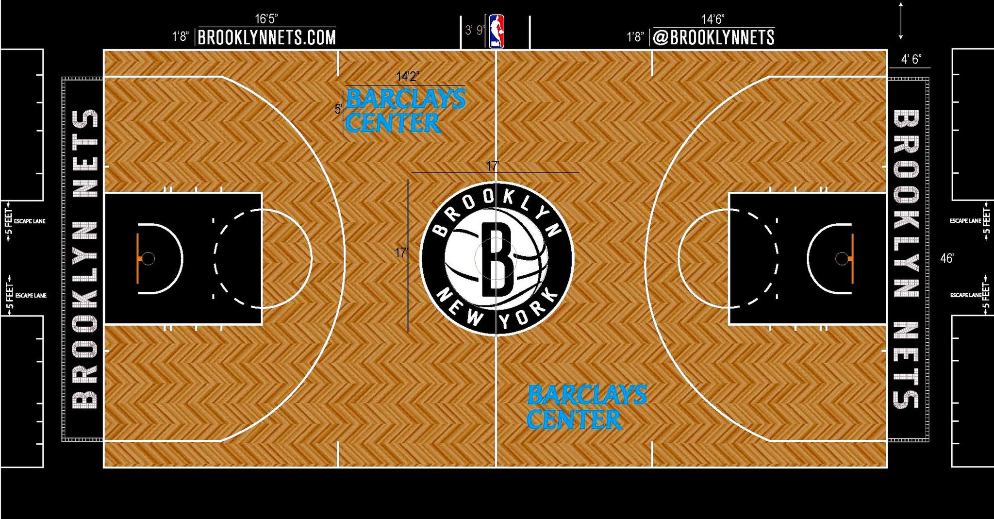 Ranking All 30 Nba Court Designs Basketball Chicago