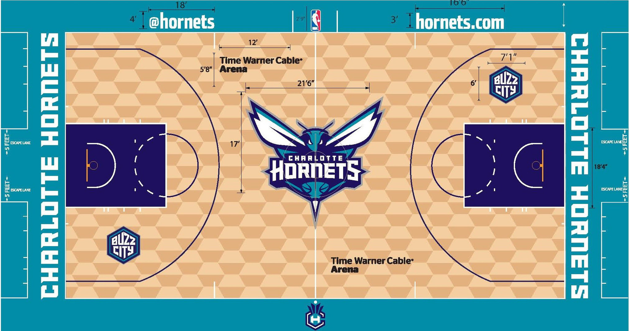 Ranking all 30 NBA court designs