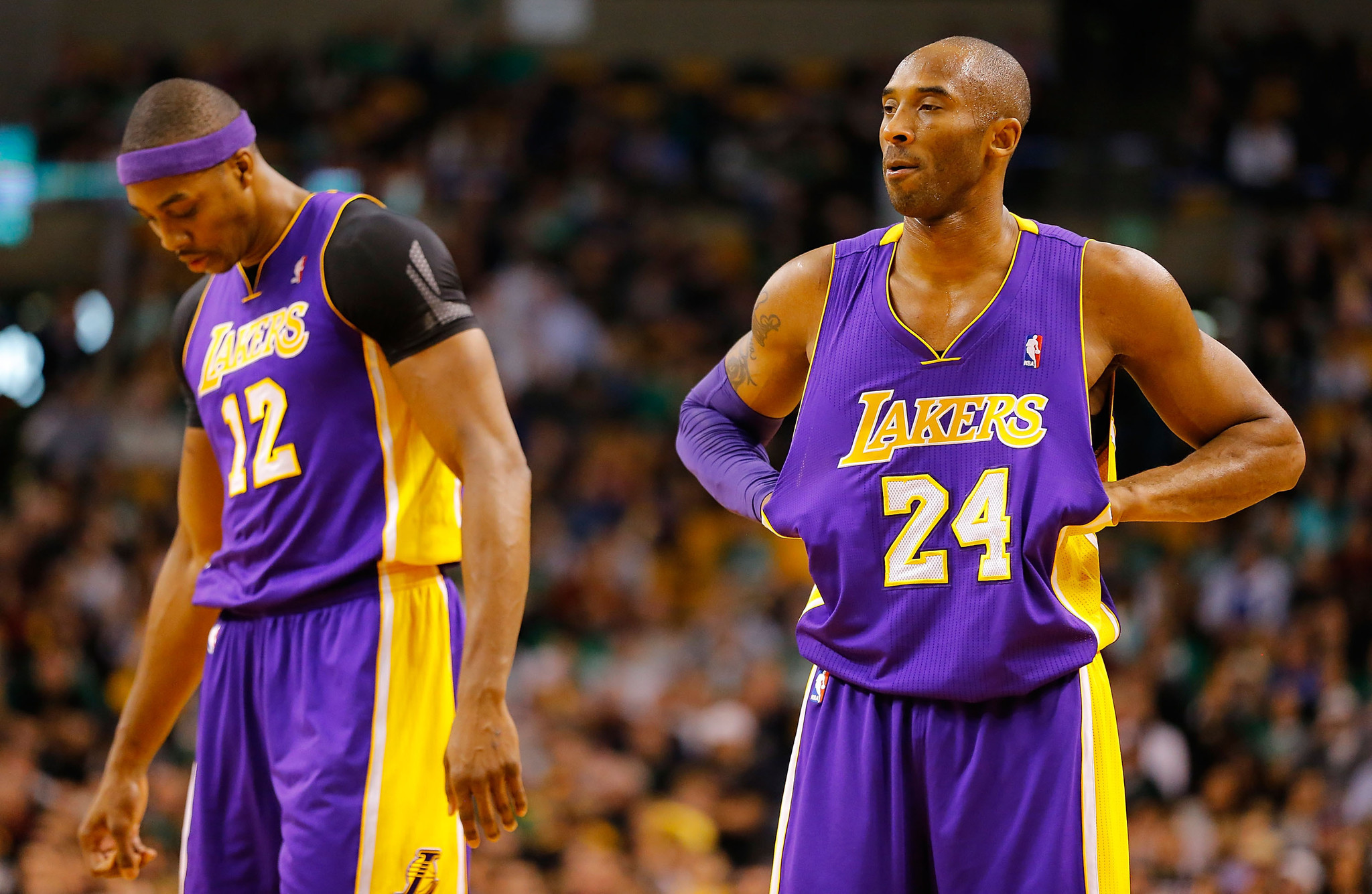 Kobe chronicles Dwight Howard says he and Kobe Bryant don t hate