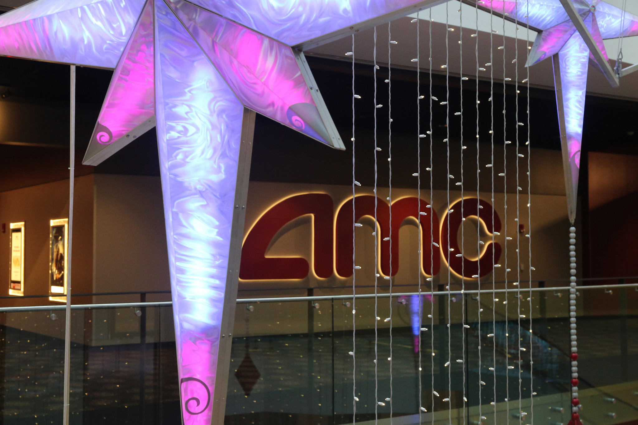 inside the new amc movie theater at block 37