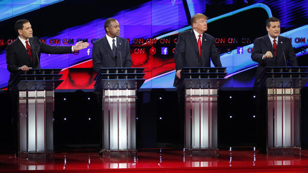 Photos: GOP debate