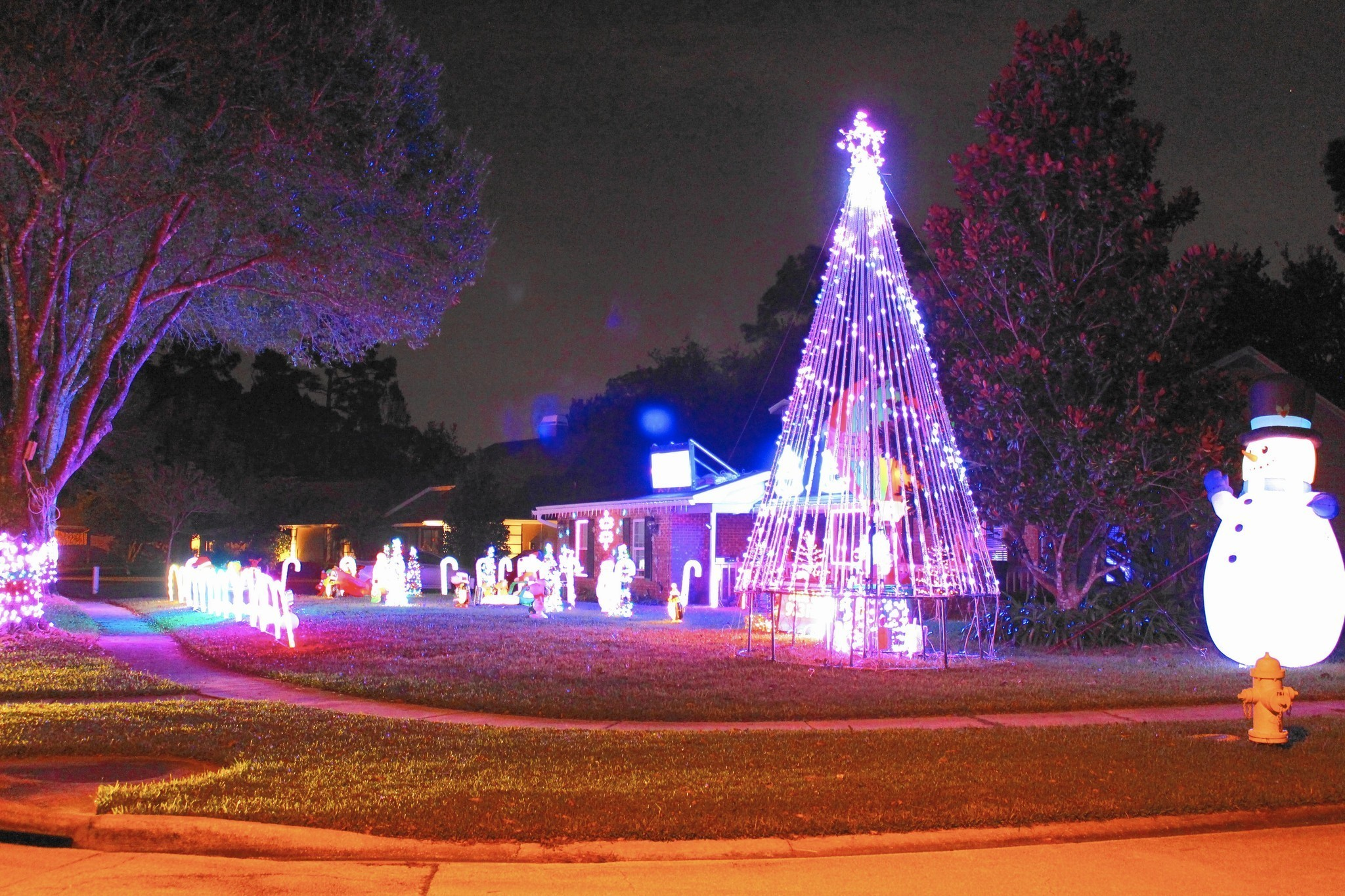 best christmas lights around central florida orlando sentinel