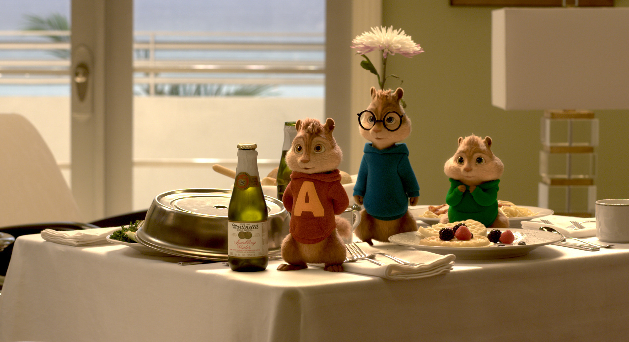 alvin and the chipmunks: the road chip' review: mischevious rodents