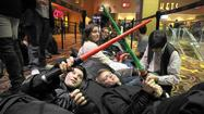 'Star Wars' fans brave long lines, eager for next chapter