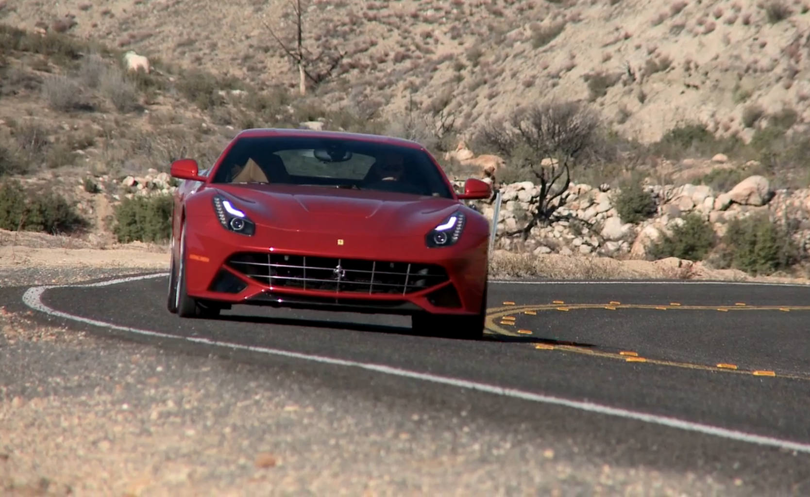 ferrari f12 berlinetta is a beast, but surprisingly well behaved