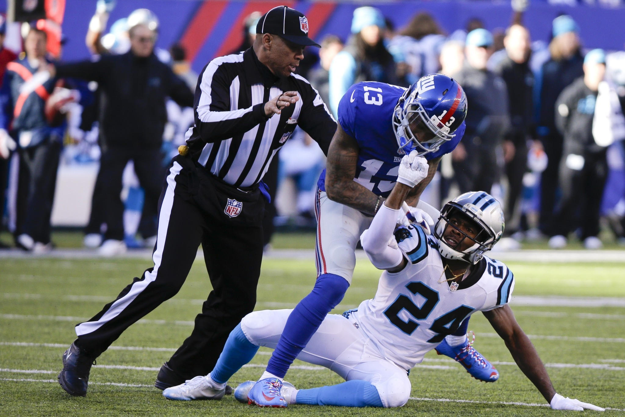 Odell Beckham Jr. Loses His Grip, Costing Giants - Hartford Courant