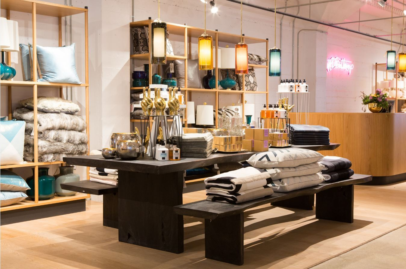 The new HD Buttercup furnishings showroom in DTLA caters to