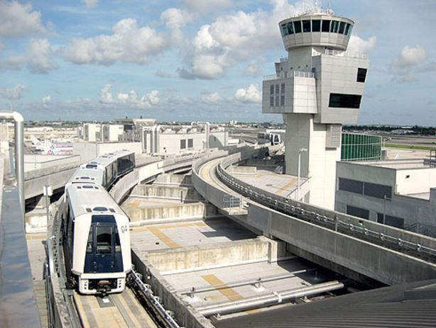 Skytrain Cars Derail At Miami International Airport Sun