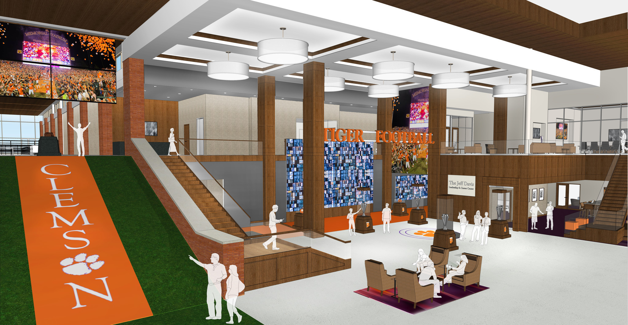 Colleges spend fortunes on lavish athletic facilities for Athletic training facility design