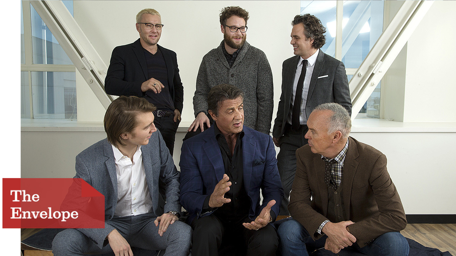 Actors Round Table The Envelope Supporting Actors Roundtable La Times