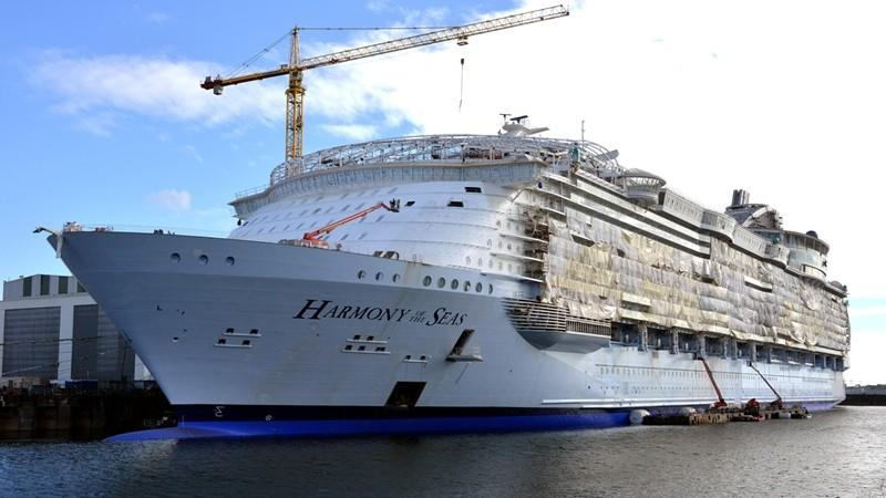 Royal Caribbean Harmony of the Seas construction